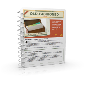 Old Fashioned Recipes cover